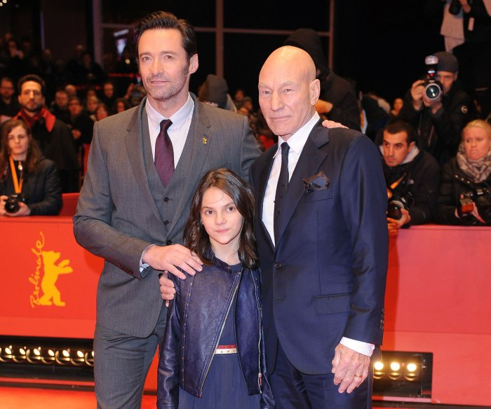 Hugh Jackman premieres 'Logan' at the 67th Berlin International Film Festival