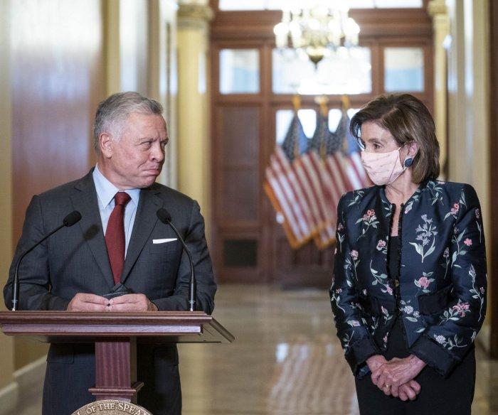 King Abdullah of Jordan visits Washington, D.C.