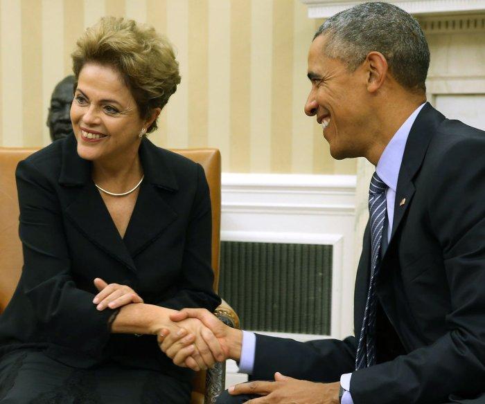 Obama hosts Dilma Rousseff in Washington