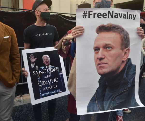 Russian dissident Alexei Navalny moved to hospital