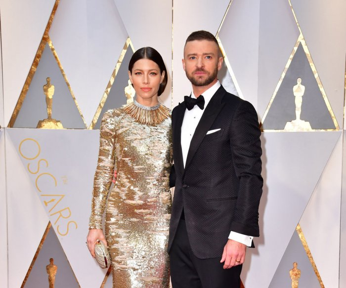 Celebrity couples on the 89th annual Academy Awards red carpet