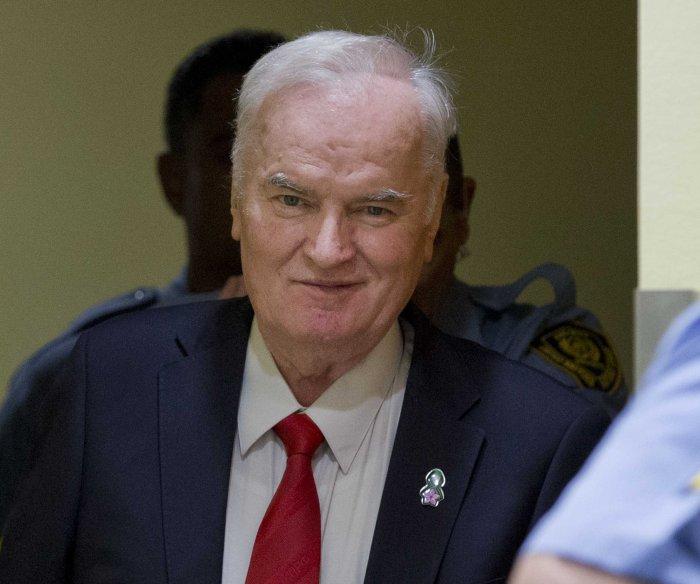 'Butcher' Mladic gets life in prison for war crimes, genocide during Bosnian War