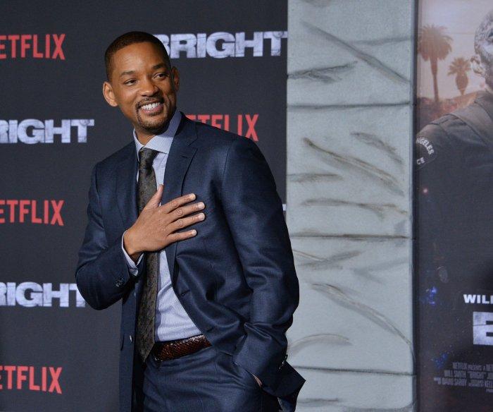 Will and Jaden Smith attend the premiere of 'Bright' in LA