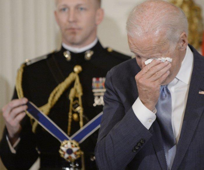 President Obama surprises VP Biden with Medal of Freedom