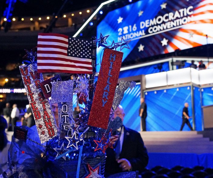 Day One at the Democratic National Convention in Philadelphia