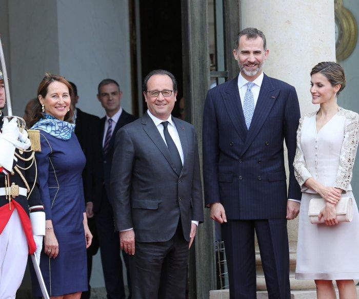 King Felipe VI visits Paris for state dinner