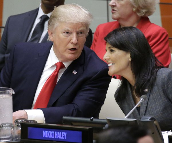 Nikki Haley proving to be forceful diplomat, could be moving up