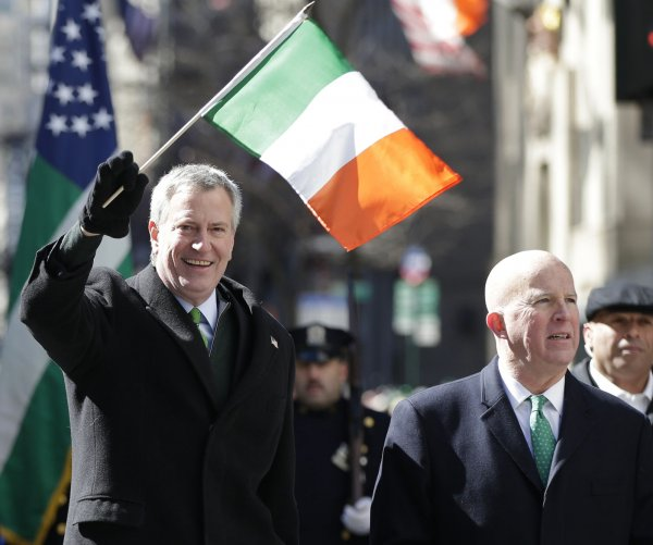 Scenes from St. Patrick's Day Parade in NYC