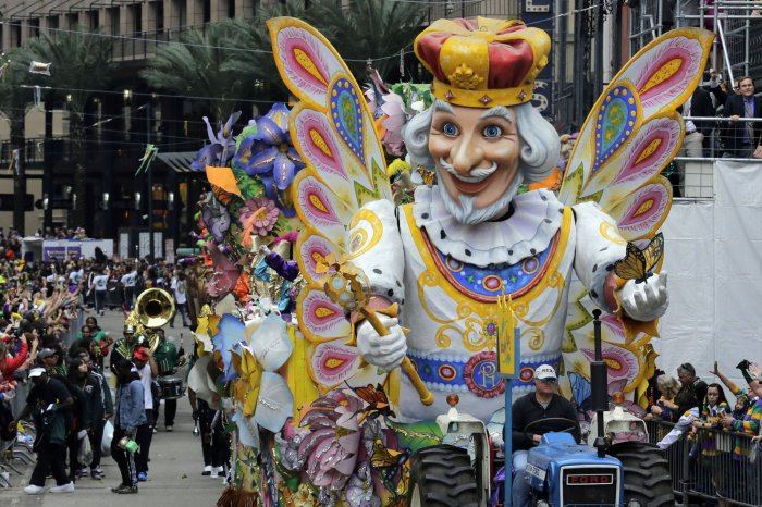 Moments from Mardi Gras 2020 in New Orleans