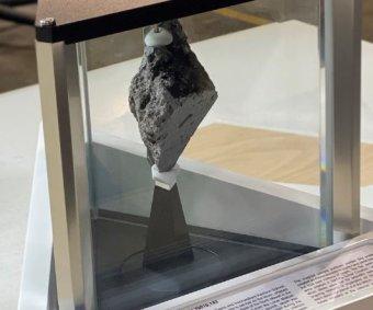 Moon rock on Joe Biden's desk raises hopes for lunar return