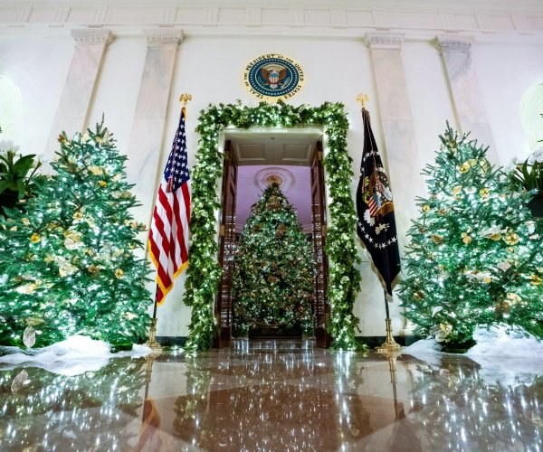 'Spirit of America' marks White House Christmas decor