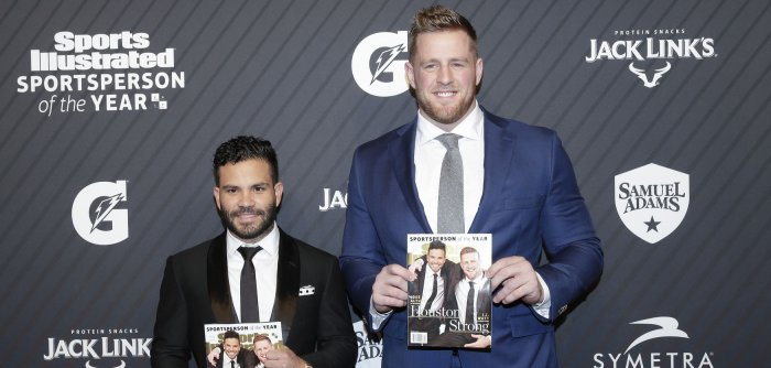J.J. Watt, Jose Altuve honored at 2017 SI Sportsperson of the Year show