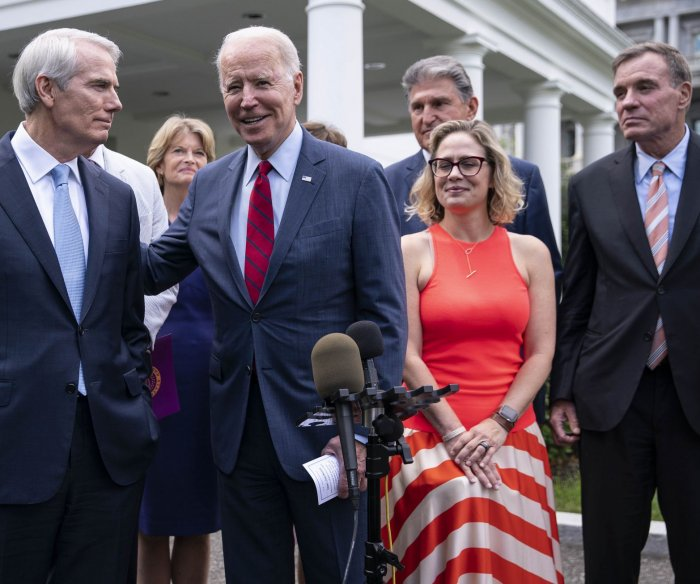Biden on infrastructure package: 'We have a deal'