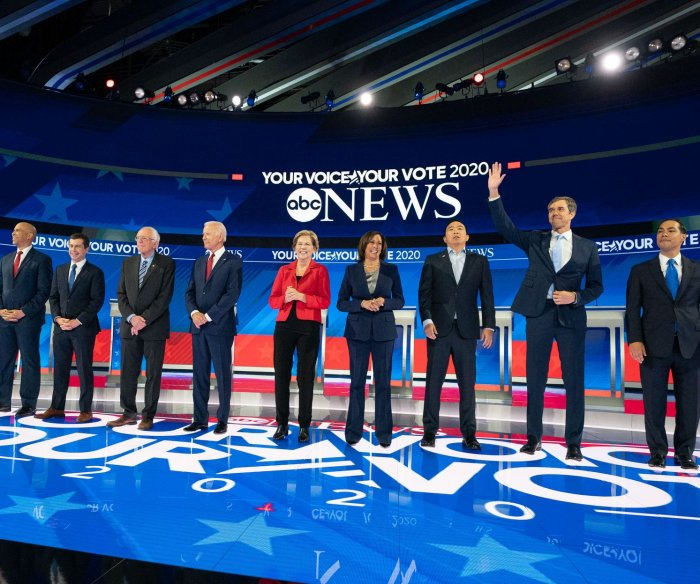 A dozen Democrats set to take stage at 4th primary debate