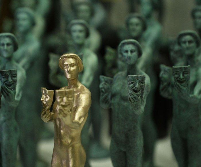 SAG award statuettes created at California foundry