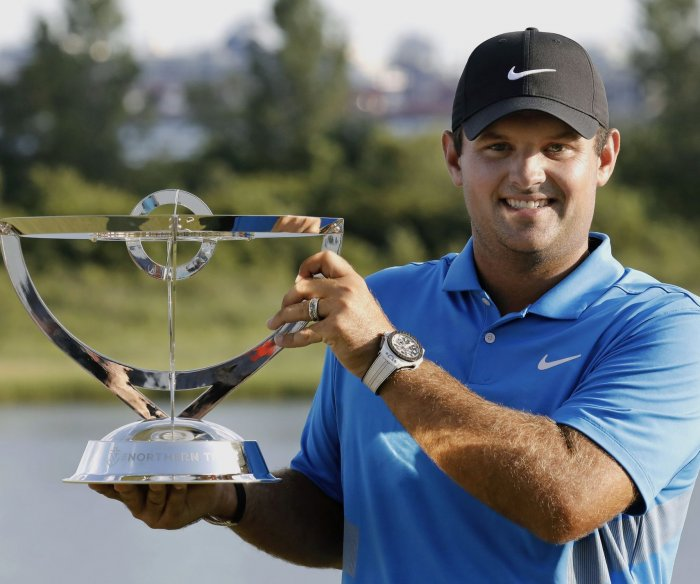 Patrick Reed wins the Northern Trust golf championship