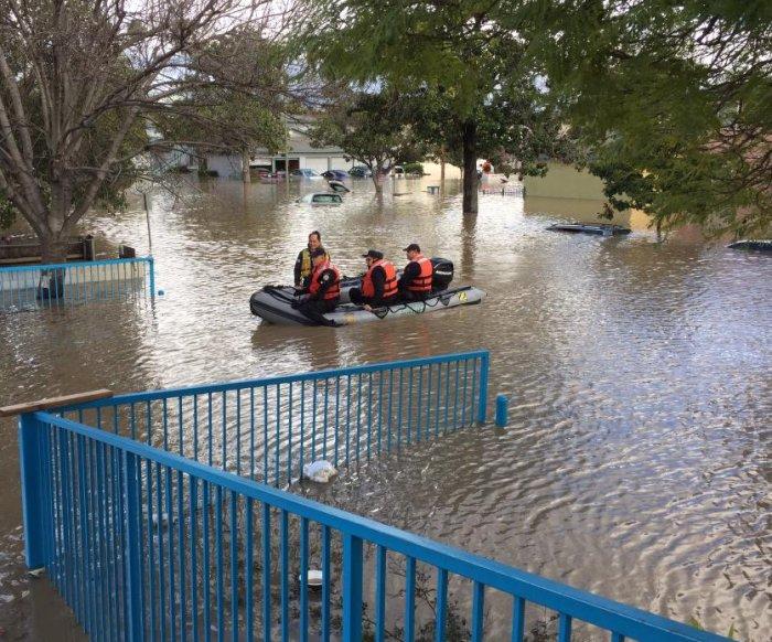 Hundreds evacuated in San Jose after floods drown neighborhoods