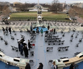 Preparing for inauguration of Joe Biden, Kamala Harris