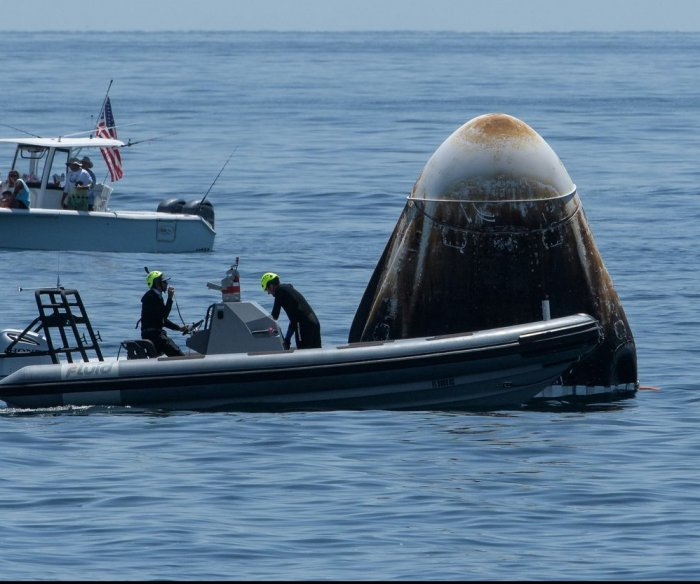 NASA prepares Dragon capsule for first reuse with astronauts