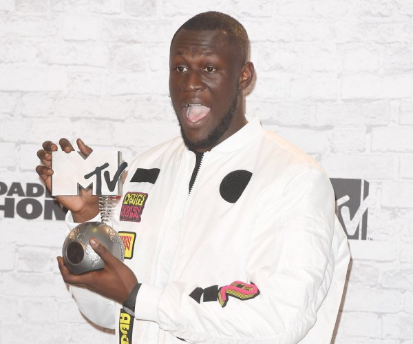 Stormzy wins top honors at 2018 Brit Awards