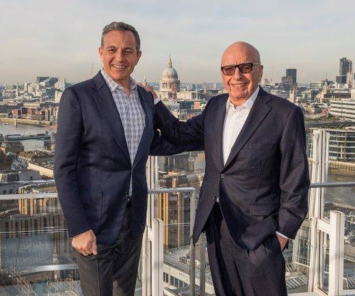 Disney buys Fox TV, film studios as part of major $52B deal