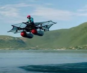 'Flying vehicle' unveiled by aero startup Kitty Hawk