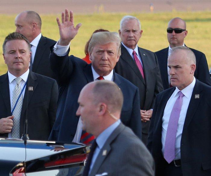 Watch live: Presidents Donald Trump, Vladimir Putin meet in Helsinki