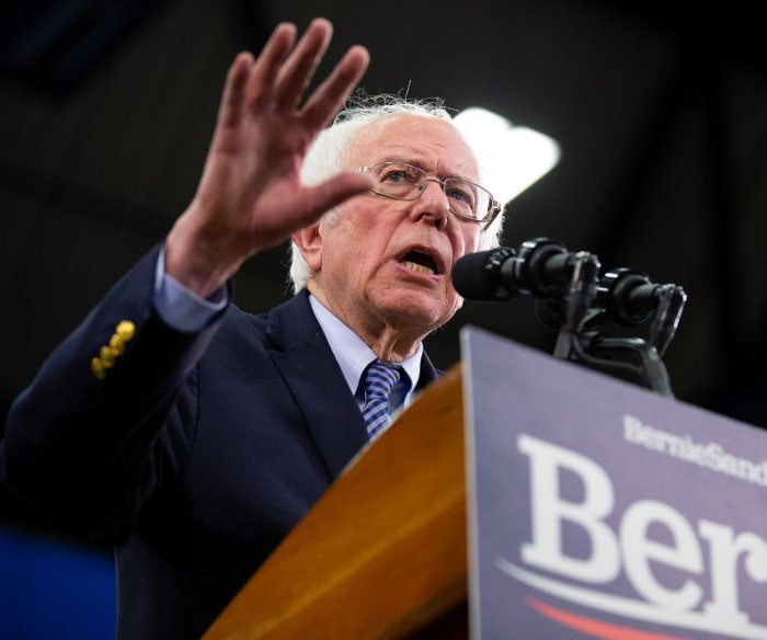 Sanders overwhelms foes in Nevada caucuses