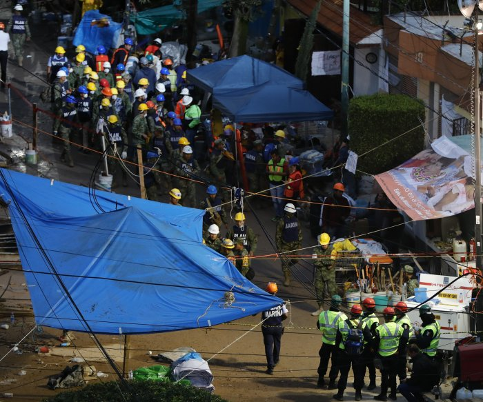 All children at collapsed Mexican school accounted for