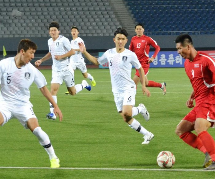 North-South Korean soccer game latest round of sports diplomacy