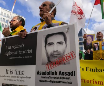 Iranian diplomat on trial for terrorism