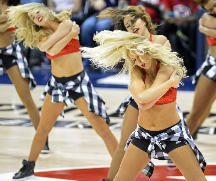 2015 NBA Cheerleaders