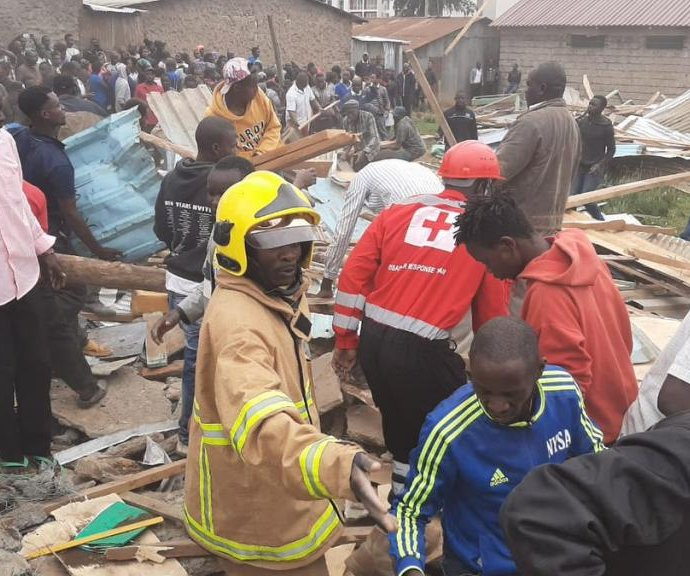 7 killed, dozens injured as school collapses in Nairobi