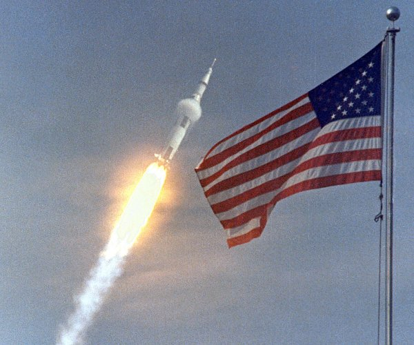 UPI archive: Apollo 11 blasts off for historic moon voyage (7/16/1969)