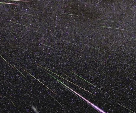 Orionid meteor shower to peak this weekend