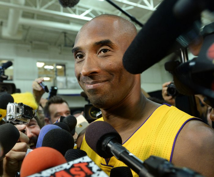 Los Angeles Lakers' media day