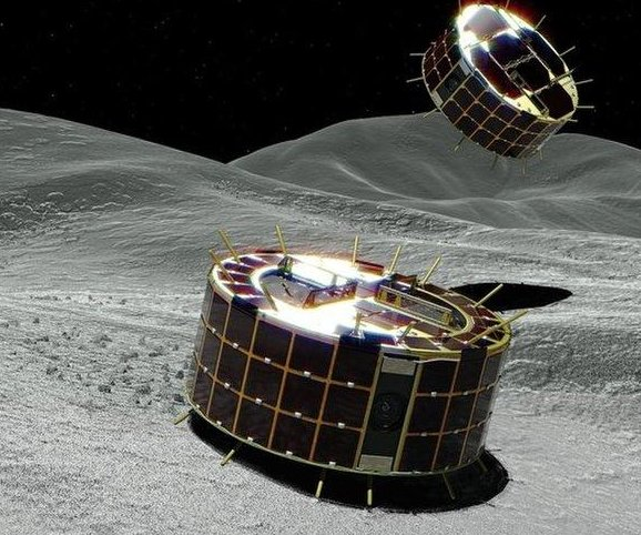 Hayabusa 2 probe drops two robotic landers on asteroid