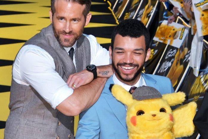 Ryan Reynolds, Justice Smith attend 'Pokemon: Detective Pikachu' world premiere