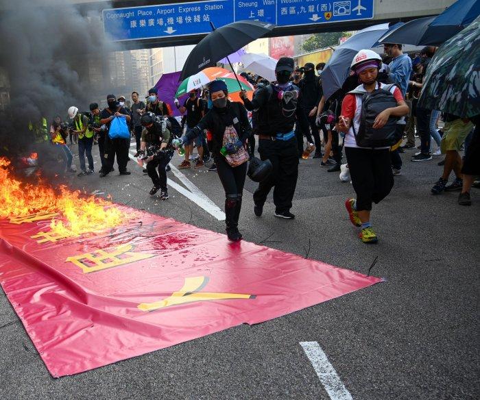 Hong Kong leader: Nat'l security law only targets 'handful'