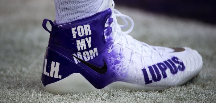 NFL players wear custom cleats to support causes