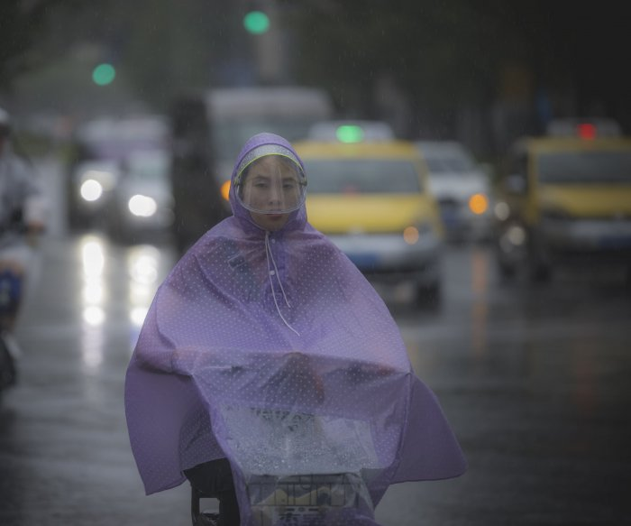 Typhoon In-fa makes landfall in China on heels of record flooding