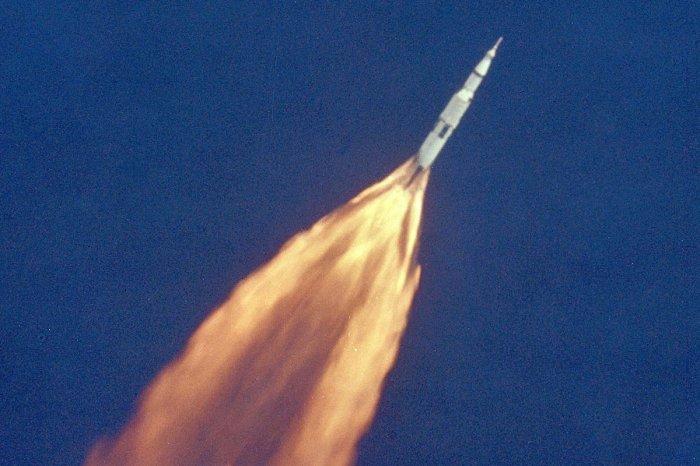 NASA TV rebroadcasts Apollo 11 mission on 50th anniversary