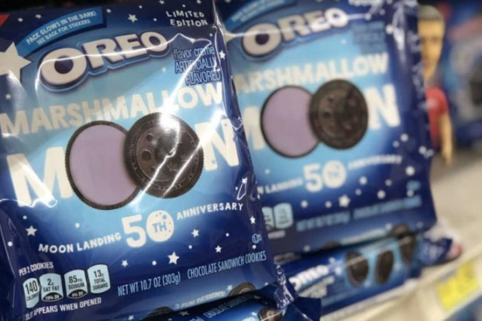 Oreos celebrate Apollo 11 anniversary with moon-themed cookies