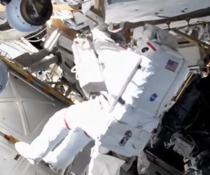 Spacewalk attempt to install new solar array on space station postponed