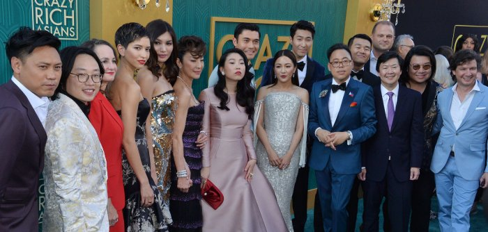 'Crazy Rich Asians' premieres in Los Angeles