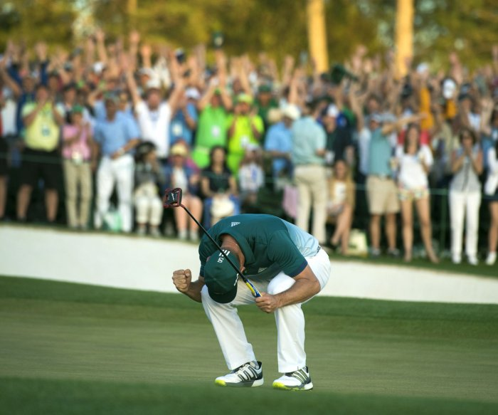 Moments from 2017 Masters Tournament