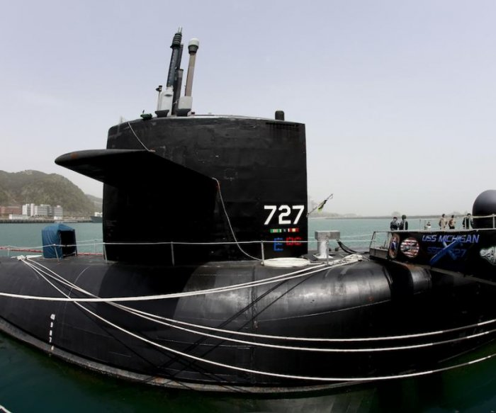 Report: Nuclear-powered USS Michigan to arrive in South Korea