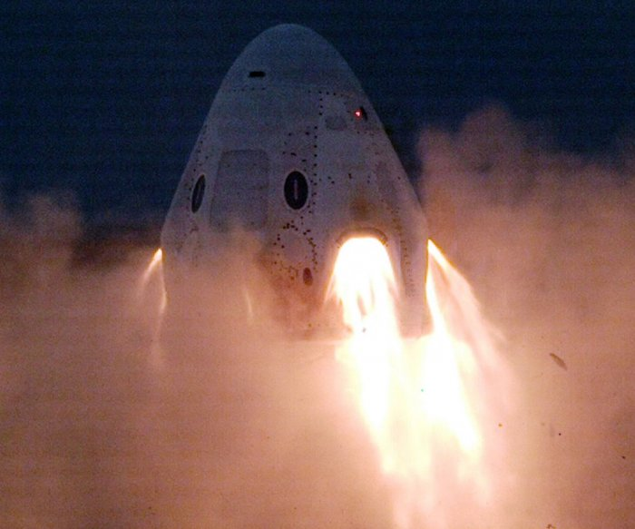 SpaceX test Sunday could be final one before firm carries people
