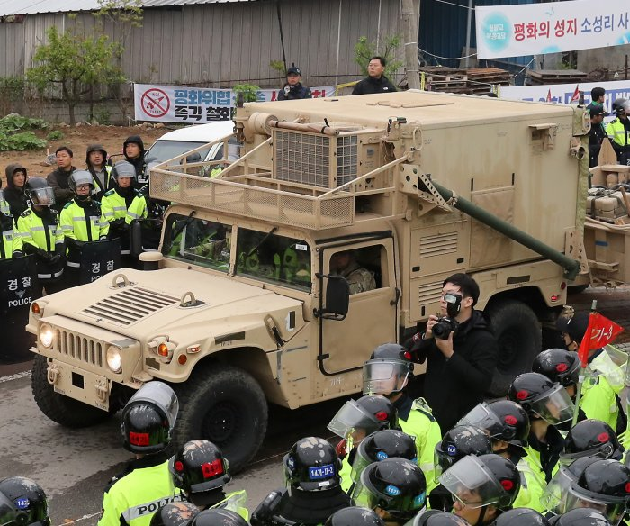 China demands South Korea remove THAAD defense system