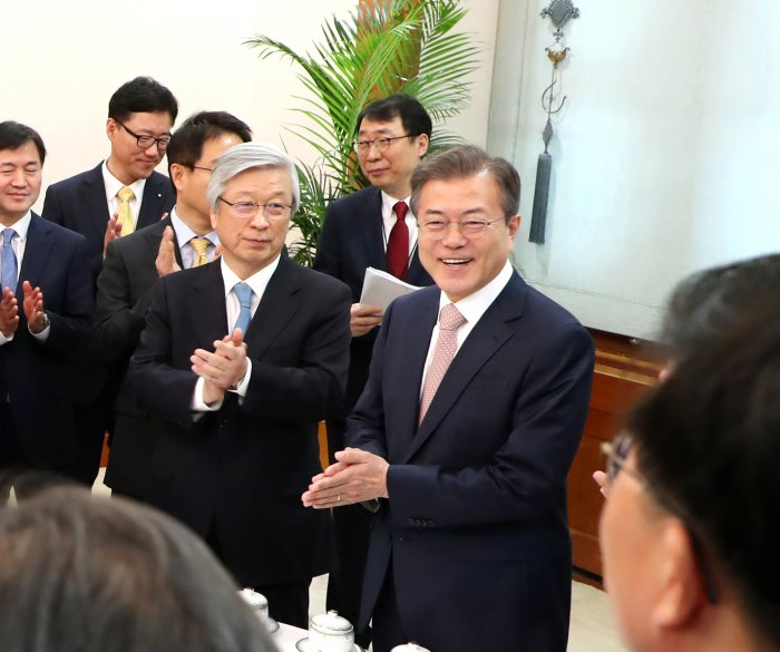 South Korea's Moon: North Korea seems willing to denuclearize